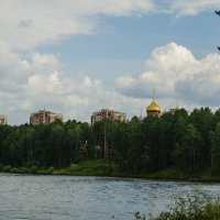 Золотые купола Душу мою радуют :: Вадим Басов