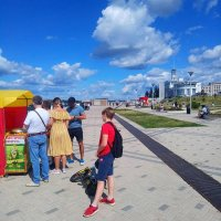 Набережная Нижнего Новгорода :: Роман Царев