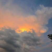 Вечернее небо в тучах :: Александр