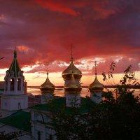 Багрянец заката. :: Наталья Сазонова