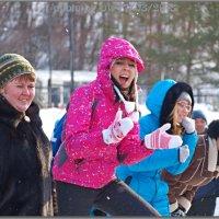 Уж были зимы в том времени...! :: Юрий Ефимов