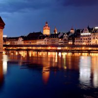 Luzern by night :: Elena Wymann