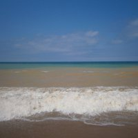 Трехцветное Черное море :: MarinaKiseleva