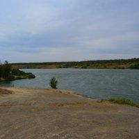 Шахты. Грушевское водохранилище в начале осени. :: Пётр Чернега