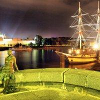 Ночь в Великом Новгороде :: Андрей Григорьев