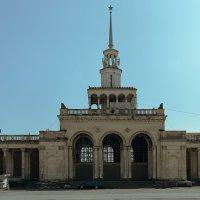 Панорама Сухумского вокзала :: Дмитрий Парфенов