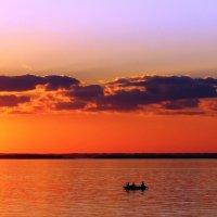 Лодки на закате :: Рустам Илалов