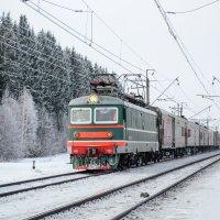 Уральская зима, Транссиб :: Wanderer Burunduck