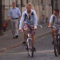 велосипедисты :: Диана Матисоне