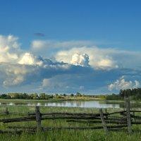 пейзаж с облаками :: Александр Потапов