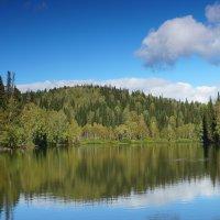 зеркало озера :: Александр Потапов