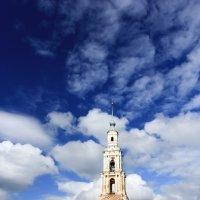 Затопленная колокольня в Калязине :: Олег Патрин