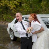 Нормальная реакция свидетеля...когда за спиной невесты жених кулаком грозит! )))))) :: Виталий Левшов