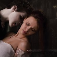 Злобный вампир Денис и прекрасная Даша :: Наталья Вильман