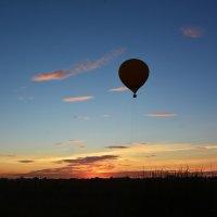 Вечернее небо :: юрий Амосов
