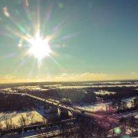 Согревающее зимнее солнышко :: Дарья Ашарина