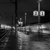 Ночной перрон :: Мария Грачева