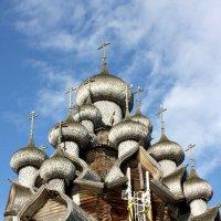 Деревянные купола Кижи :: Елена Сухенко