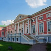 Дворец в Кусково :: Надежда Лаптева