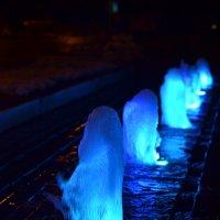 Ночные фонтанчики :: Олег Плотников