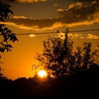 Захід сонця :: Галина Головатая