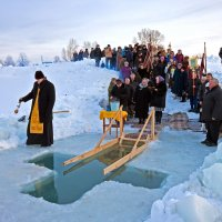 Освящение водоёма в праздик Крещения. :: Андрей Ярославцев