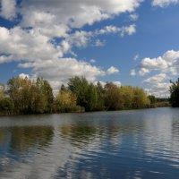Устье     зарисовки на тему  озеро :: Александр Есликов