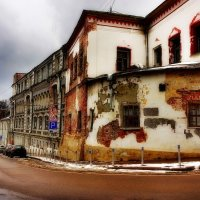 дом в хохловском переулке :: Александр Шурпаков