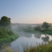 Туман над рекой :: demyanikita