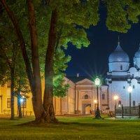 Ночной вид Новгородского Кремля :: Арина
