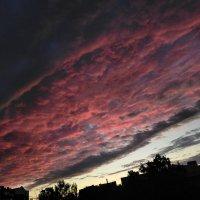 Фантастический закат в августе :: Yulia Raspopova