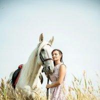 Фотосессия с лошадьмиудалитьредактировать :: Светлана Тимошенина