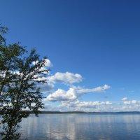 Озеро Имандра, Экостровский пролив :: Роман Журавель