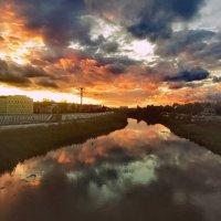 Панорама реки Упы [г. Тула] :: Петр Ваницын