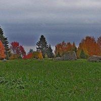 Что  такое  осень -  это  камни.... :: Vladimir Semenchukov