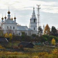 Церковь Троицы Живоначальной в Семеновском :: vg154