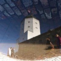 у башни святого Олафа в Выборге :: Елена