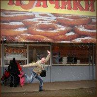 Насытившийся тех самых пончиков... :: Alex DChadov