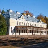 Станция. :: Геннадий Порохов