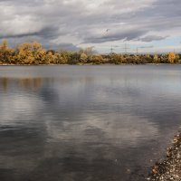 Пасмурное утро на озёрах :: Alexander Andronik