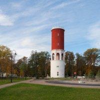 Водонапорная башня. :: Геннадий Порохов