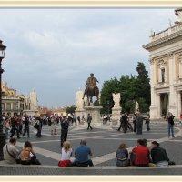 Капитолийская площадь, Рим, Италия :: Валентин Соколов