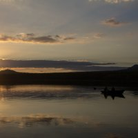 Вечер на озере :: dmitriy-vdv