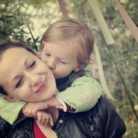 мама и доча :: Дарья Макарич