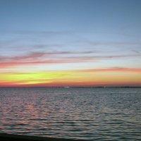 Морской закат :: Яков Геллер