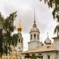 Утро на соборной горке :: Анатолий Тимофеев