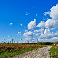 Ветровые электростанции - ВЭС :: Геннадий Беляков