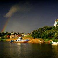 ...грозовое небо с радугой!!!... :: Ира Егорова :)))