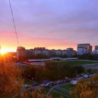 Закат от 26 сентября 2013 года 2 :: Дмитрий Симонов