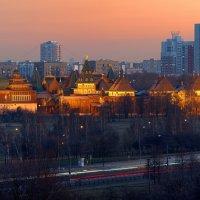Деревянный дворец царя Алексея Михайловича в Коломенском (реконструкция) :: Aleks